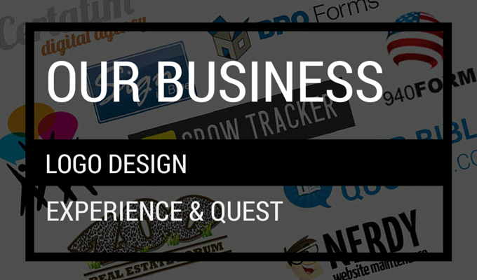 Our Business Logo Design Quest & Experience