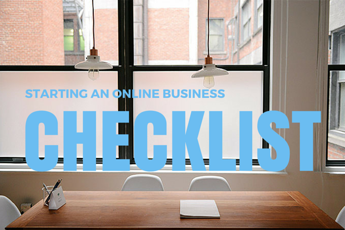 Starting An Online Business Checklist