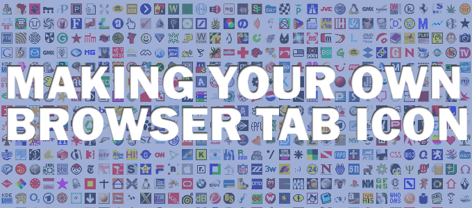 How To Make A Browser Tab Icon