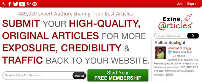 backlinks from article directories