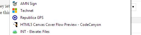 Browser Tab Icon Favorites