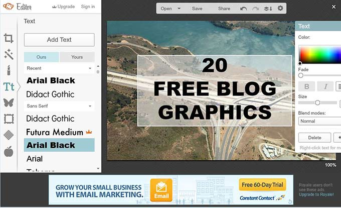 Creating Free Blog Graphics with PicMonkey