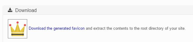 Download Your Favicon