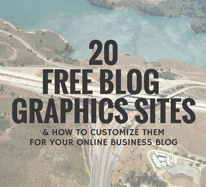 20 Free Blog Graphics Sites