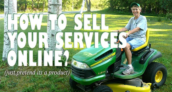 How To Sell A Services Online