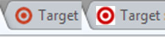 Transparent Browser Tab Icon