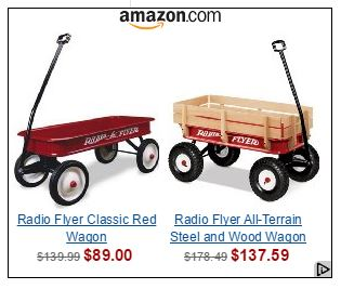 red wagon retargeting