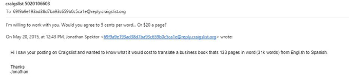 Response to Translate Book to Another Language