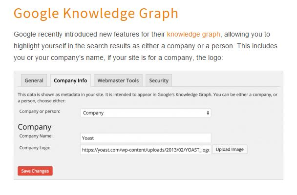 Knowledge Graph Meta in WordPress