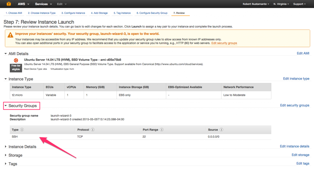 Amazon EC2 Quick Launch