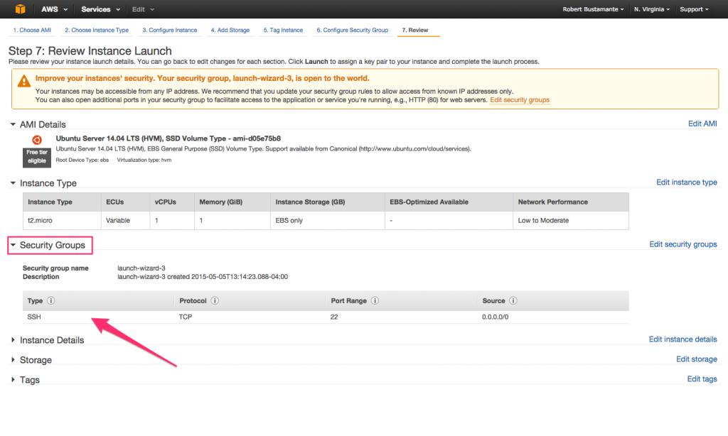 Amazon EC2 Quick Launch