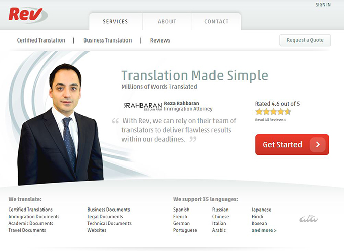 Rev Translation for Your Ebook