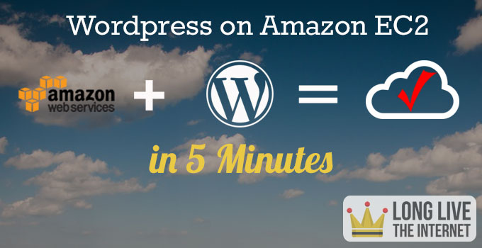 Wordpress on Amazon EC2