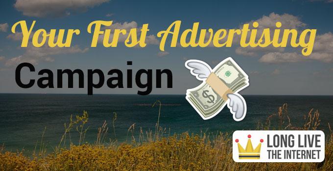 E commerce first ad campaign