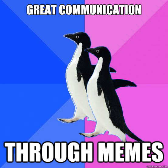 Use memes to communicate with your spouse