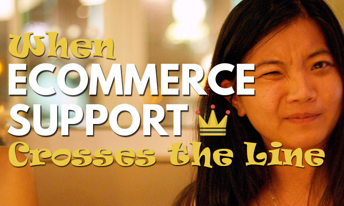 Ecommerce Support Crossing The Line