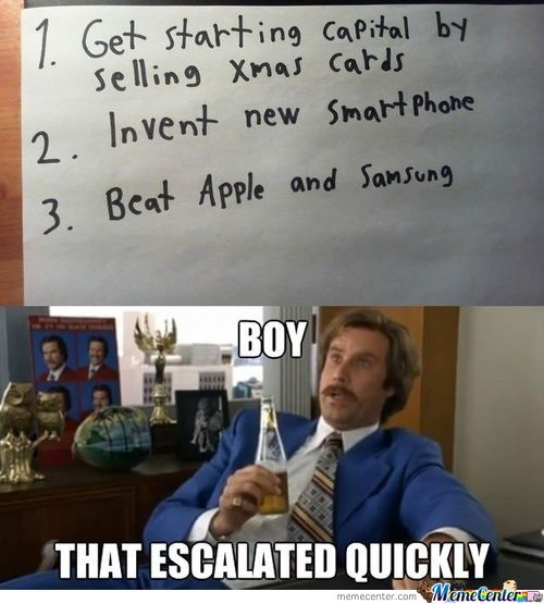 Never thought I would be able to incorporate Ron Burgundy in a post