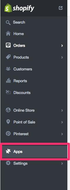 Shopify App Tab