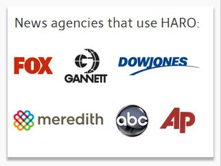 Agencies using Haro to find sources