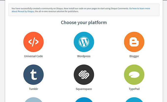 All the Different Disqus Platform Integrations