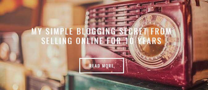 simple blogging secret