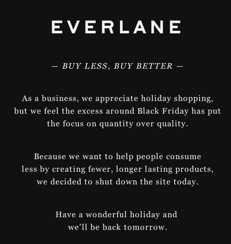 Everlane Closure Online Sales Friday